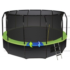 Батут Hasttings Sky Double 16FT (4, 88 м)